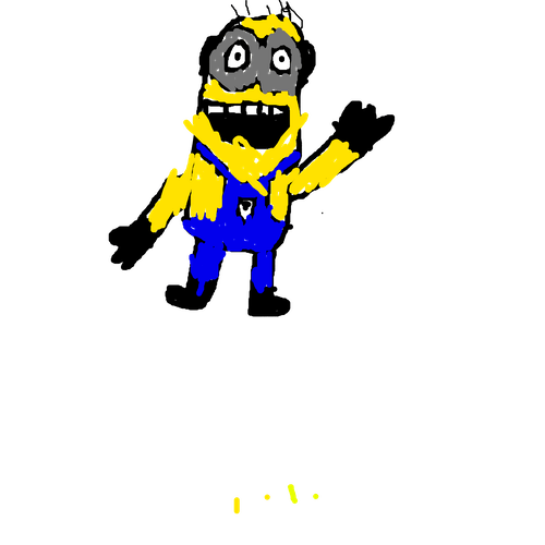 Minion dab png. How to draw a