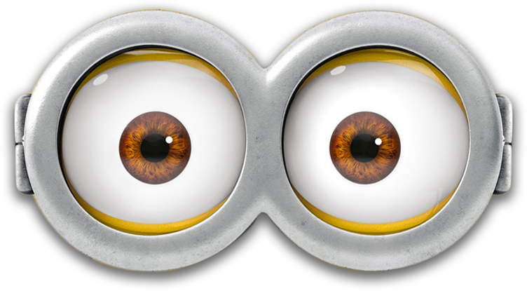 Minion eyes png. Despicable me rush dr