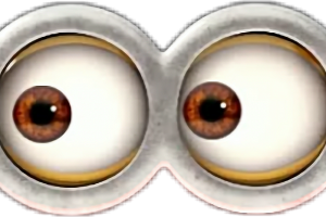 Minion eyes png. Desenho image related wallpapers