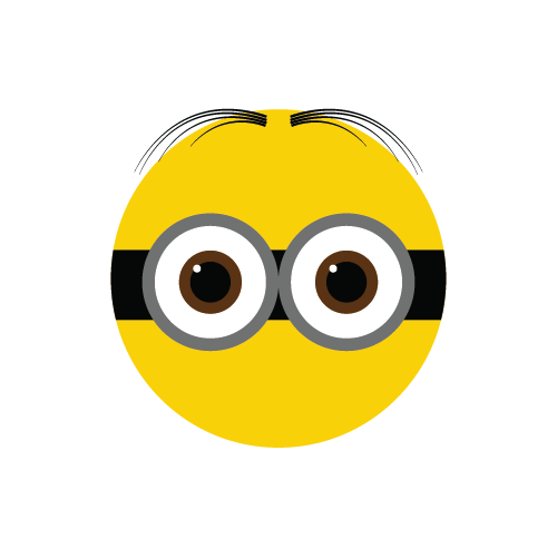 Minion eyes png. Minions images free download