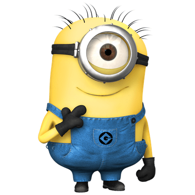 Minion transparent background png. Minions images stickpng cute