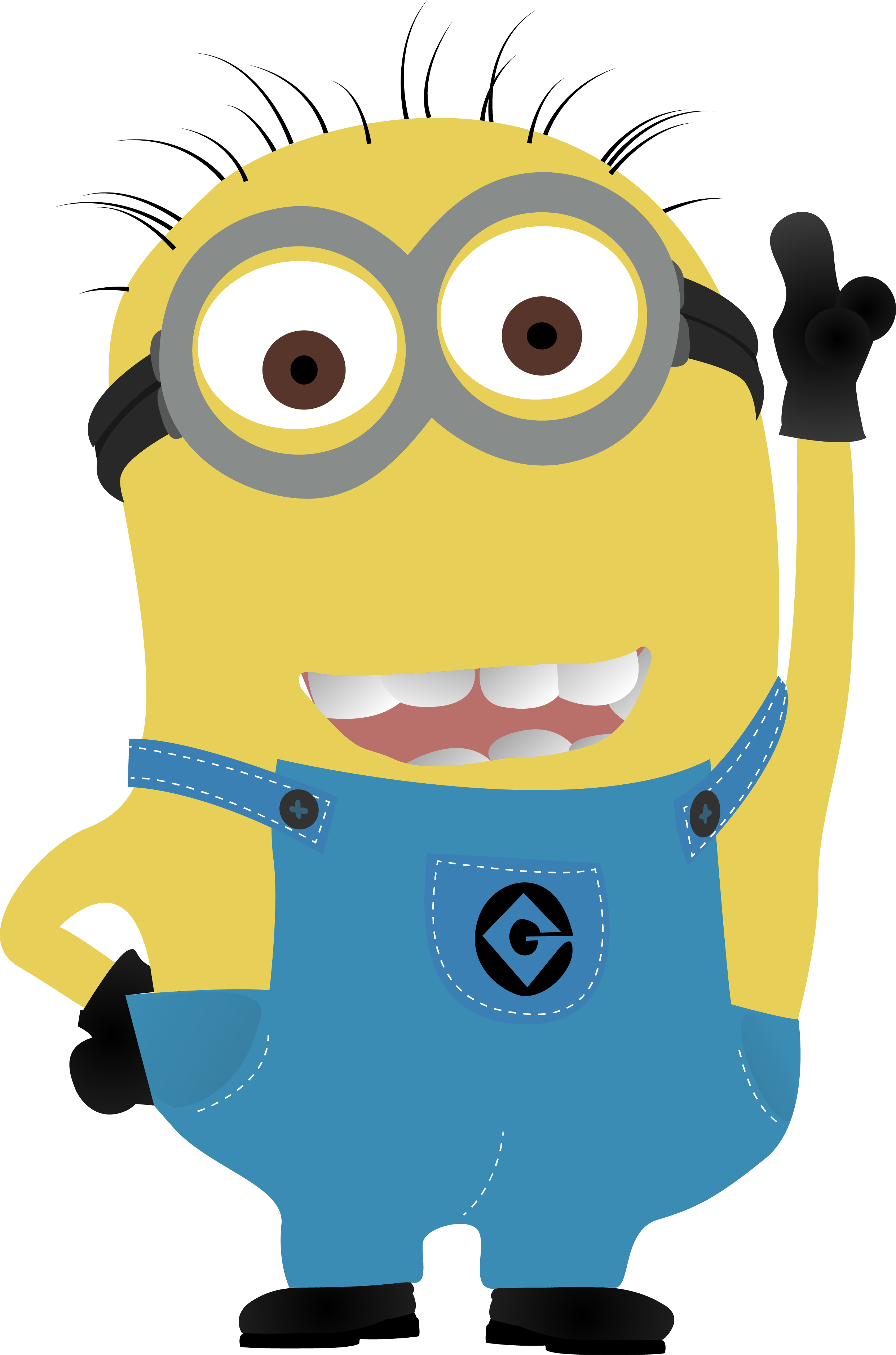 Minion vector png. From gru by wborg