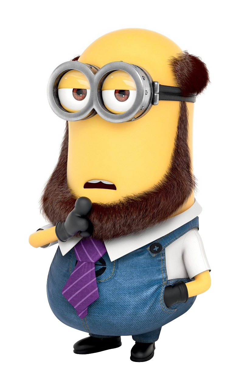 Minion vector png. Best despicable me characters