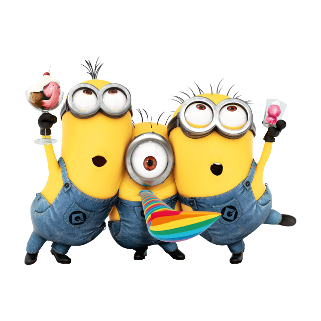 Minions Aniversario Transparent Png Clipart Free Download Ywd