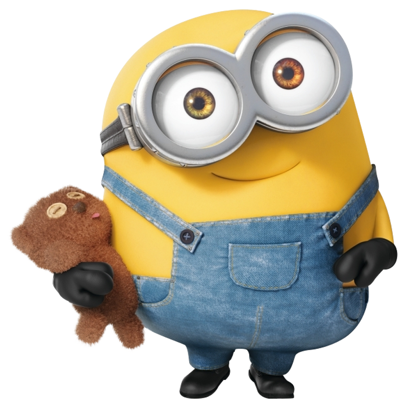 Minions bob png. Transparent background image free