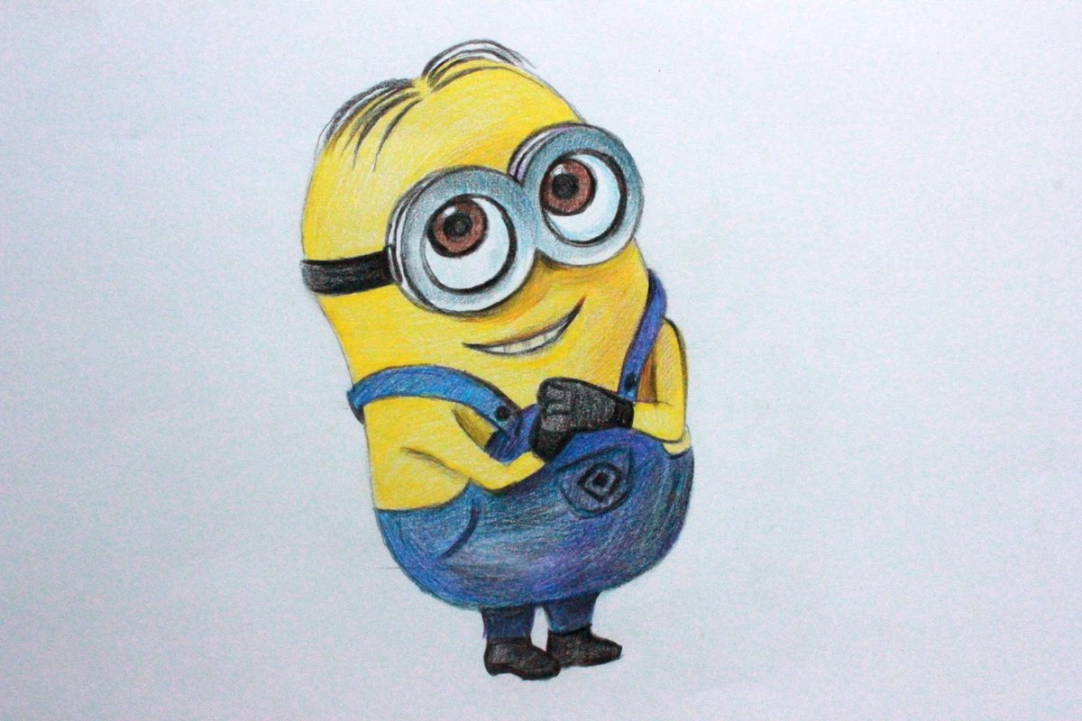 Minions clipart dave minion. Drawing at getdrawings com