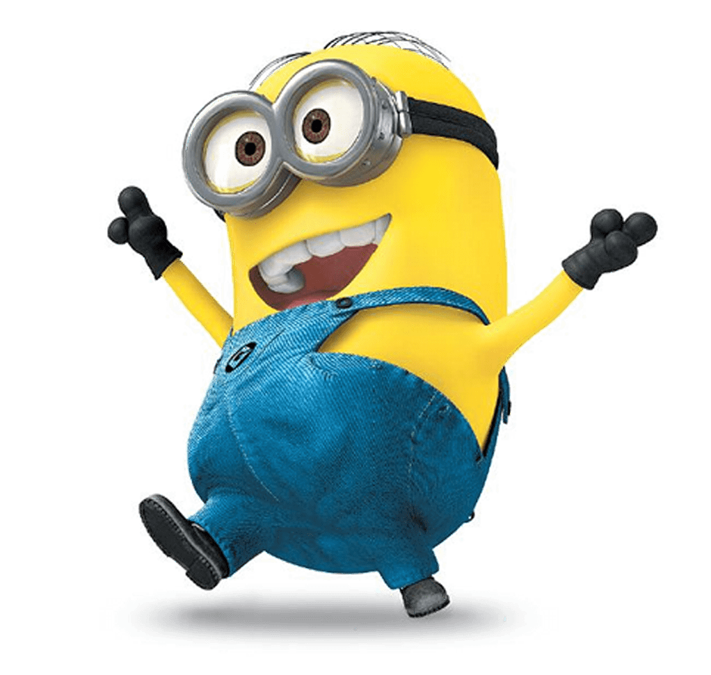 Dancing minion png. Transparent stickpng at the
