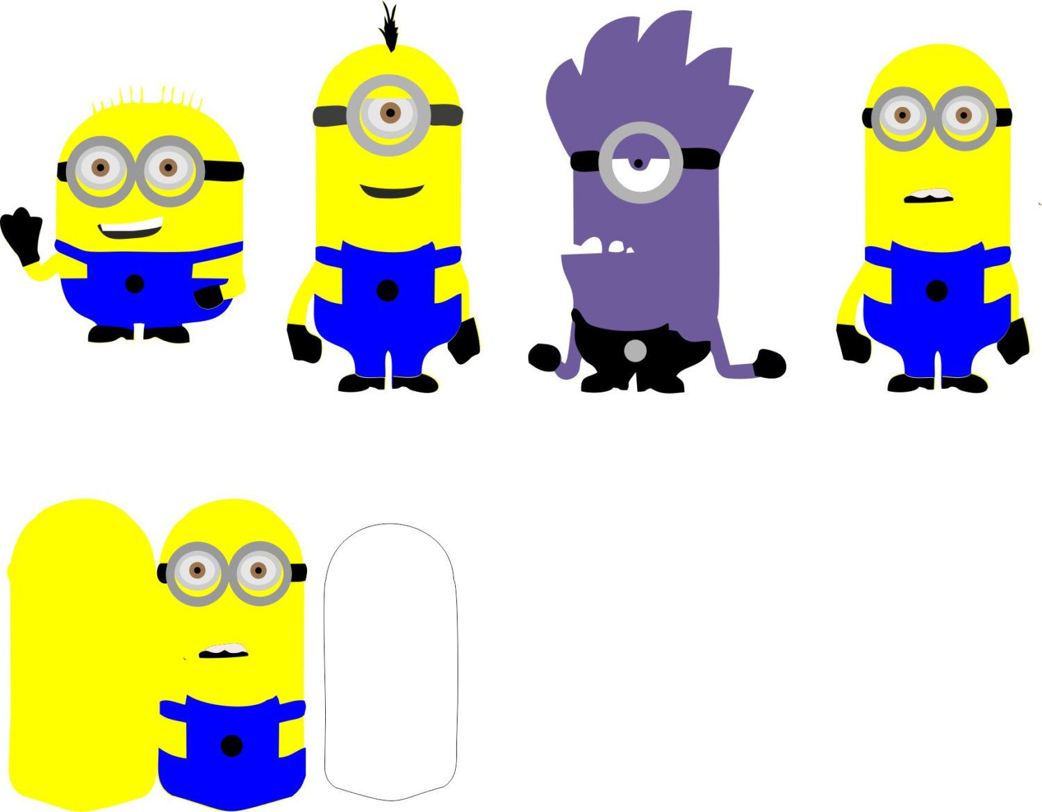 Minions clipart svg. Characters for cricut explorer