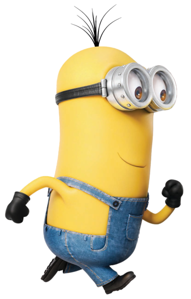 bananas transparent minion