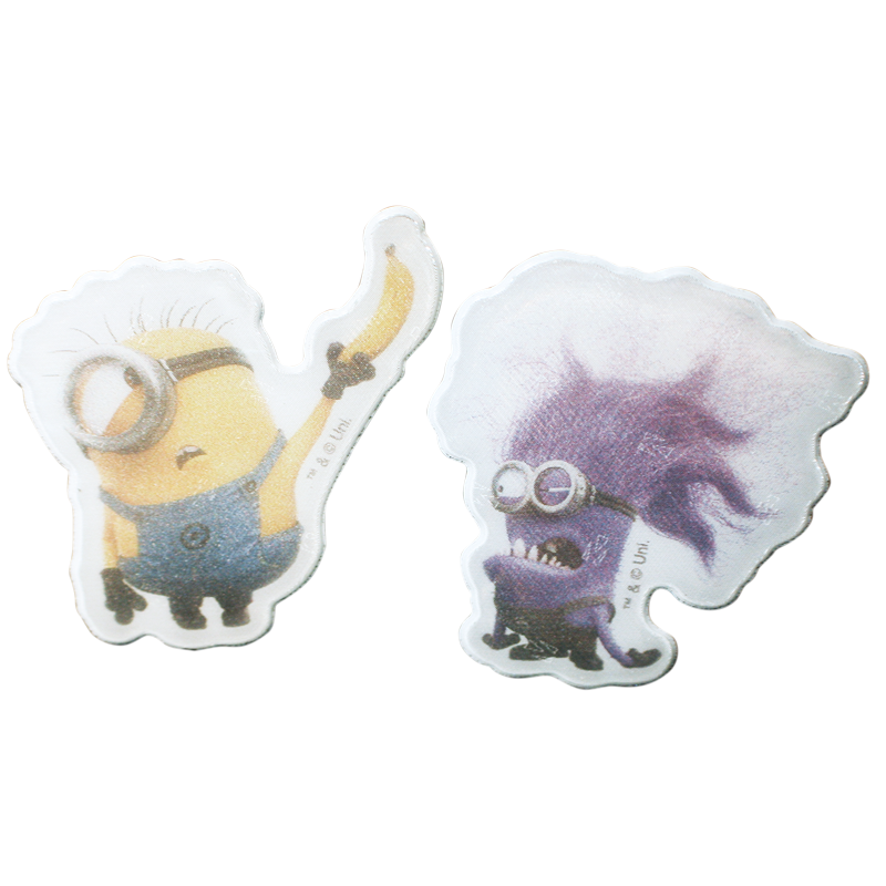 Minions evil png. Reflective sticker set minion
