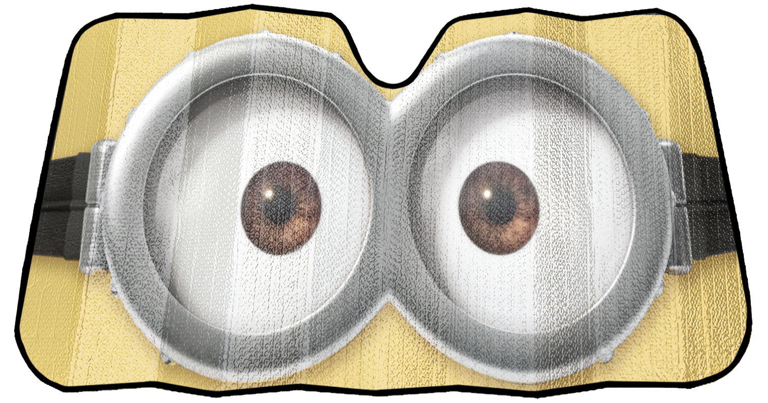 Minions eyes png. Accordion sunshade walmart com