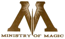 Ministry of magic logo png. Wikipedia