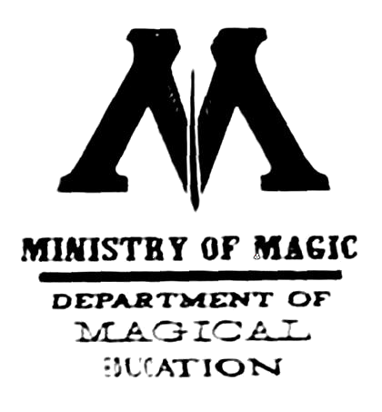 Ministry of magic logo png. Image department magical education
