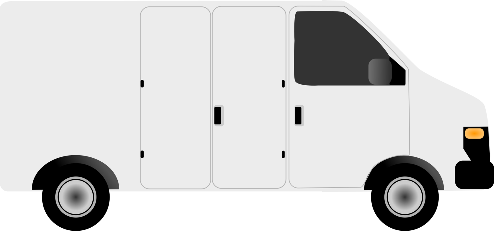 Minivan clipart van delivery. Ford transit courier car