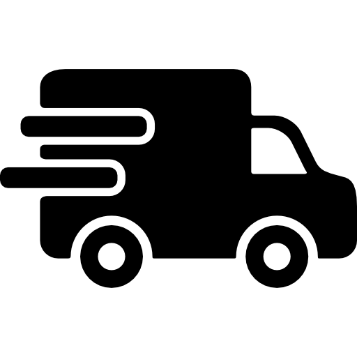 Vector van shipping. Delivery icons free download
