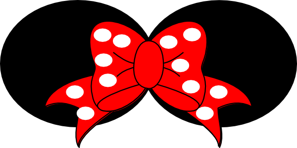 Minnie bow png. Mouse halloween clipart at