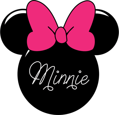 Minnie clipart face outline pink. Mouse emmy anali silhouette