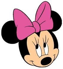 Minnie clipart face outline pink. Mouse head clip art