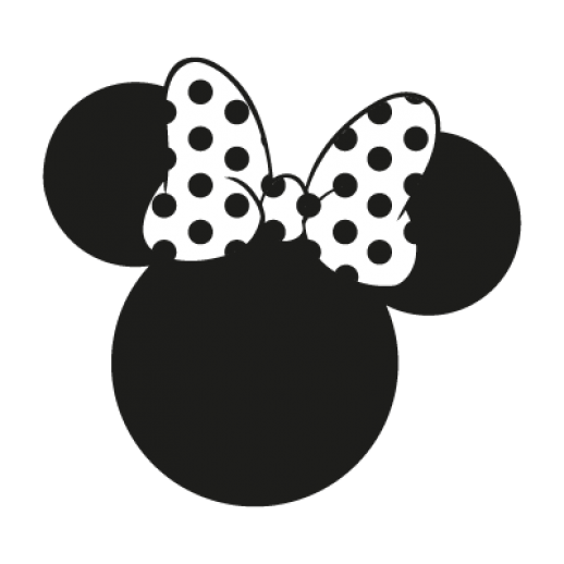 Mouse vector disney logo. Minnie face png jpg library download