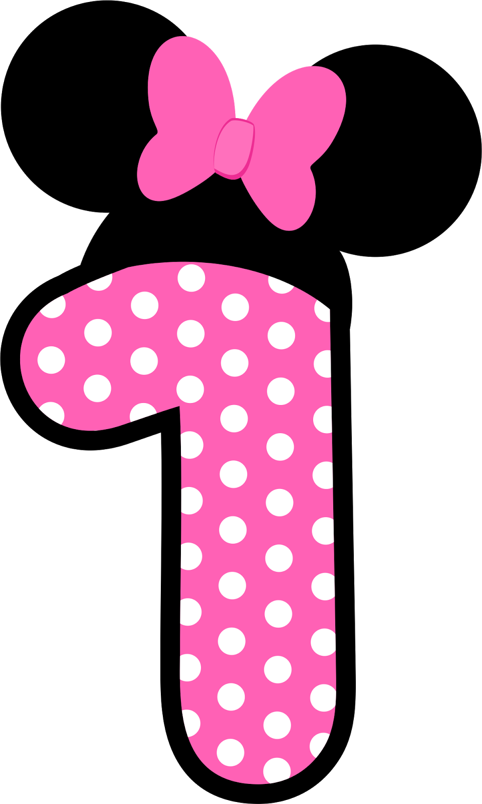 Minnie mouse 1 png. N meros a lo