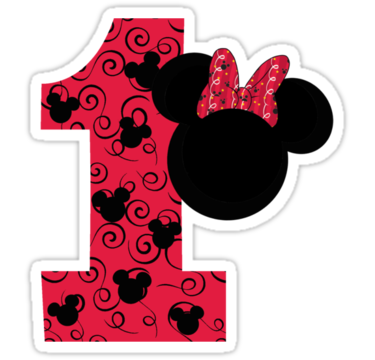 Minnie mouse 1st birthday png. First by party favs