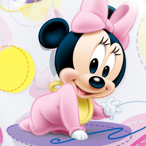 Minnie mouse baby png. Bubble balloon free delivery