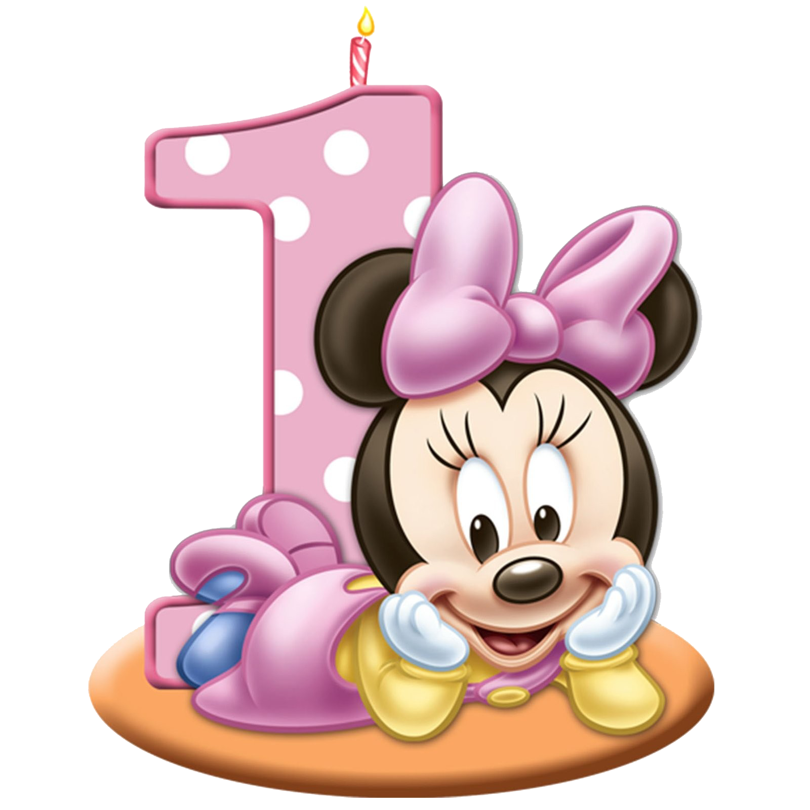 Minnie mouse baby png. Transparent images all