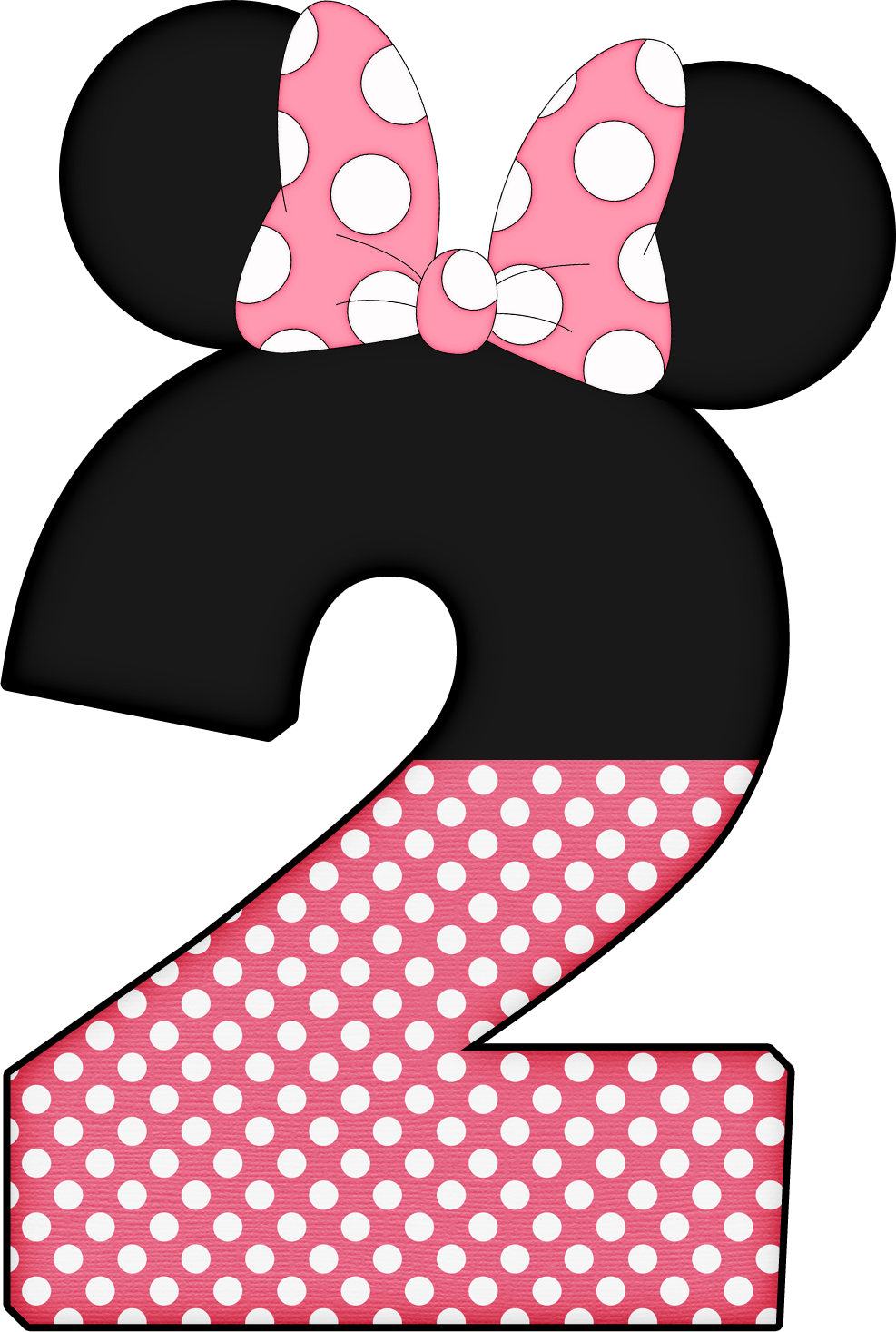 Minnie mouse background polka dots png. Numbers pinterest mice