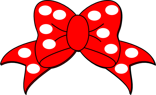 Minnie mouse bow png. White clip art at
