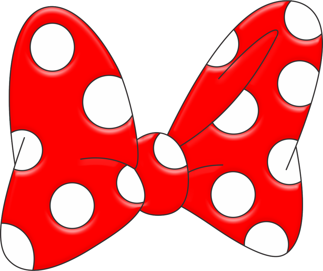 Silueta de mickey mouse png. Minnie bow silhouette at