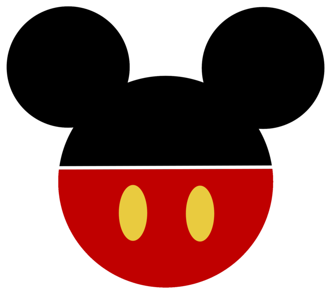Minnie mouse ears png. Mickey clipart basic coloring