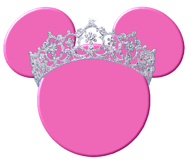 Mickey ears outline png. Minnie mouse silhouette heads