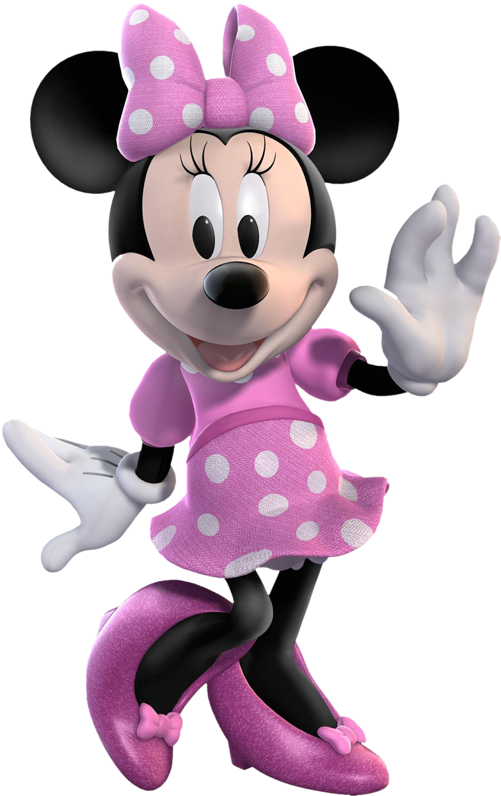Pink minnie mouse png. Transparent images all free
