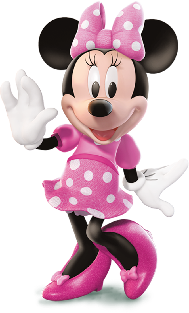 Minnie in pink png. Image mouse the parody
