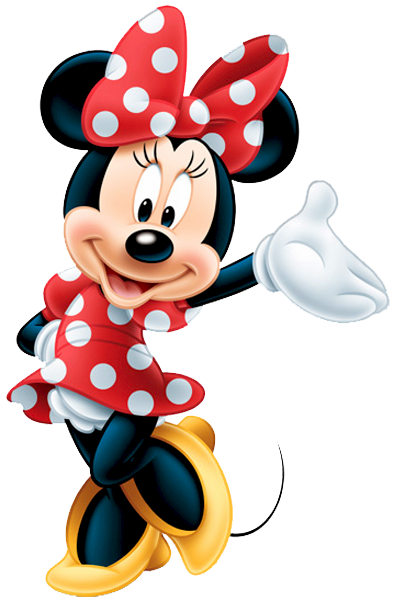 Minnie mouse red png. Download free transparent image