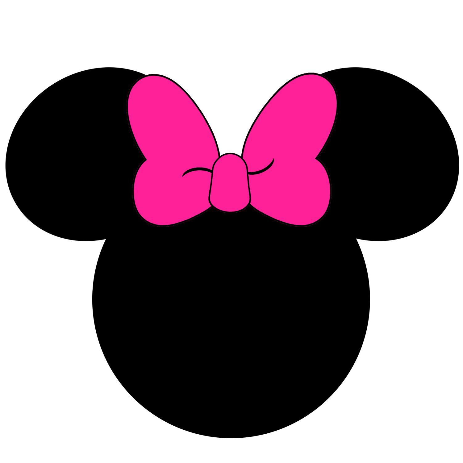 Minnie mouse silhouette png. At getdrawings com free