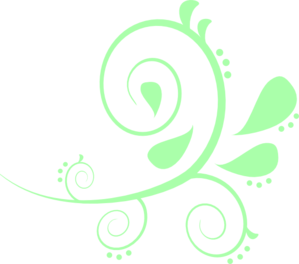 Mint flower png. Green image