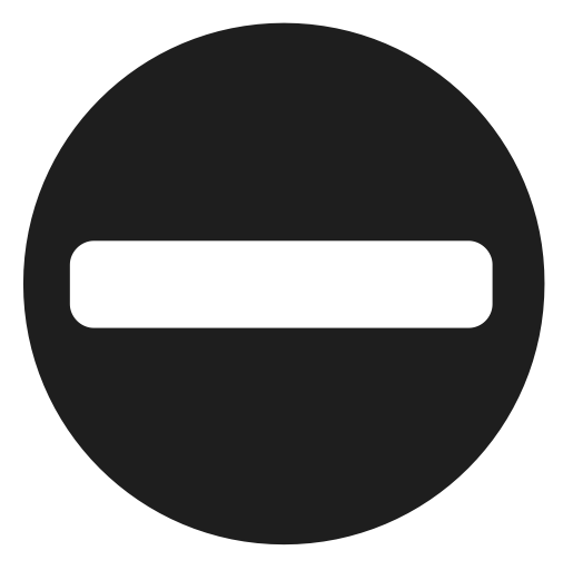 Minus sign png. Character math stop icon