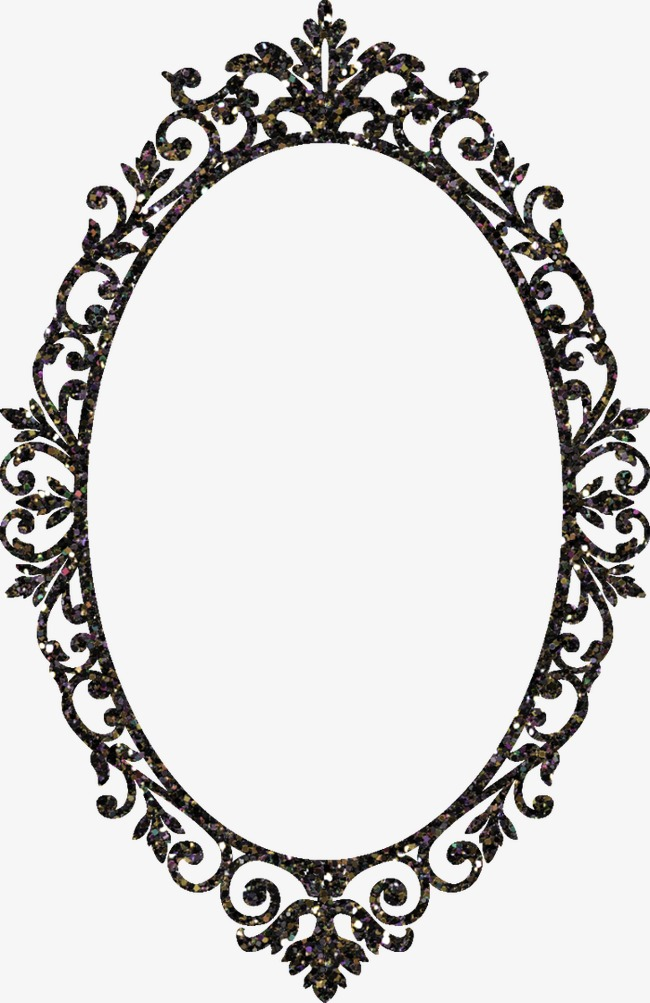 Classic clipart photo frame. Mirror classical png image