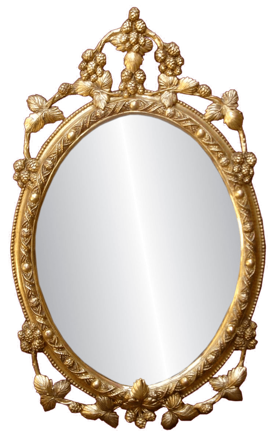 Oval mirror png