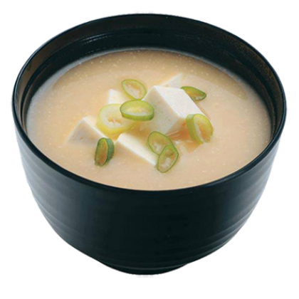 Miso soup png. By tokyo restaurant delivery
