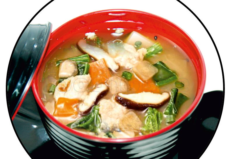 Miso soup png. Sake food delivery from
