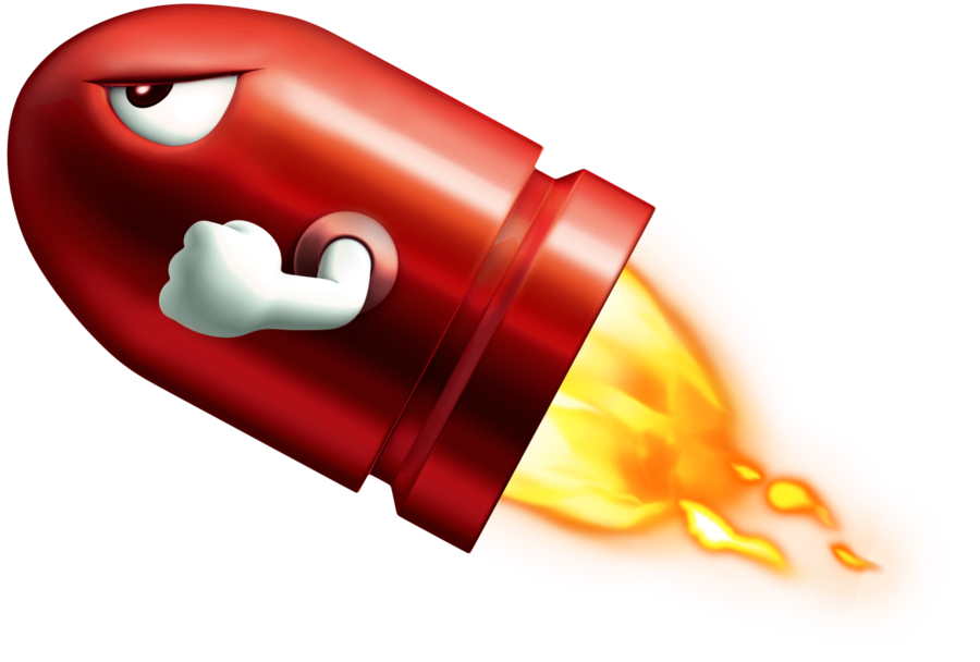 Vector bullet super mario brothers. Missile png transparent images