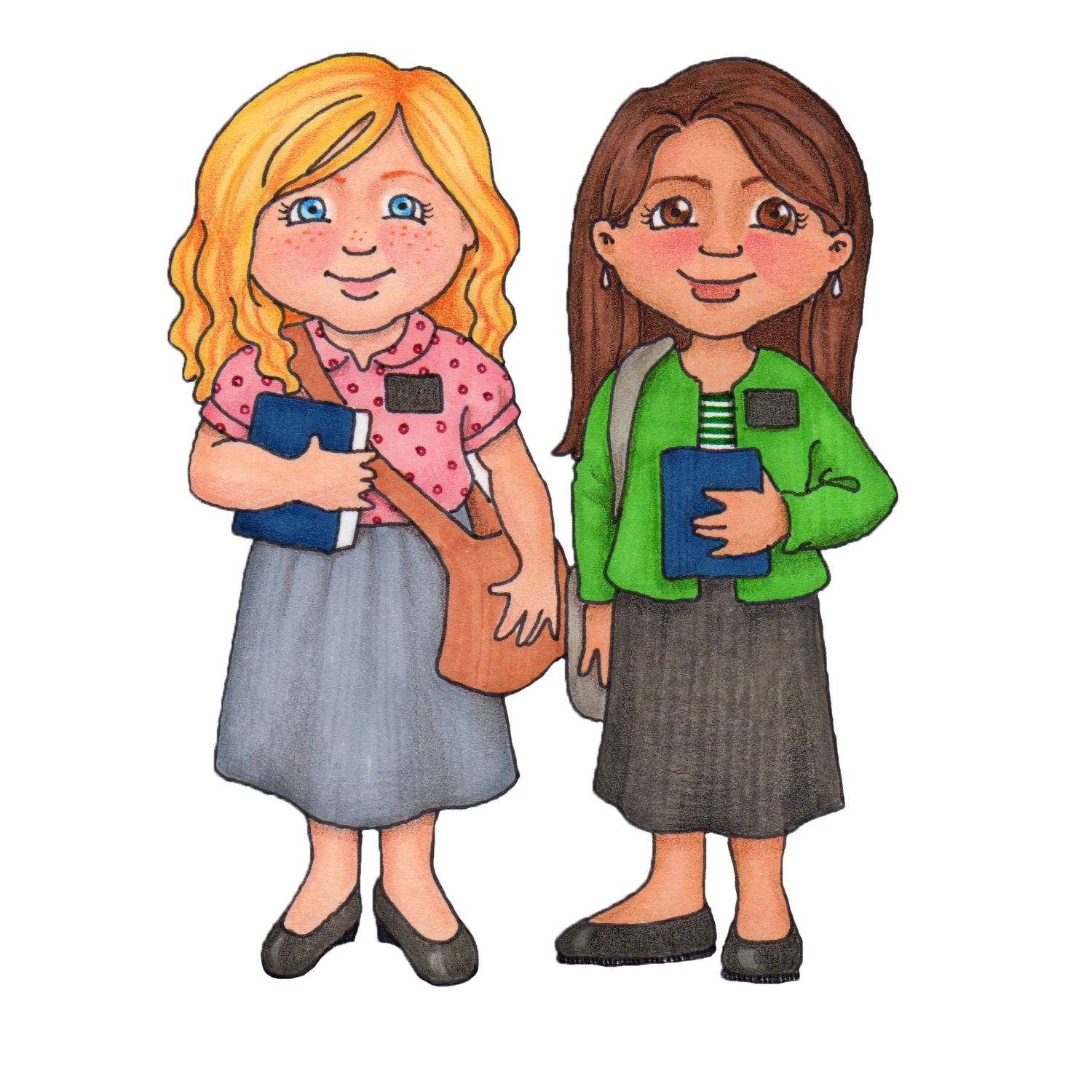 sisters clipart susan fitch