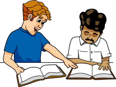 Studying clipart. Free christian evangelism cliparts