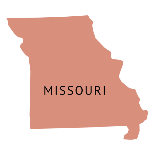 Missouri state outline png. Silhouette at getdrawings com