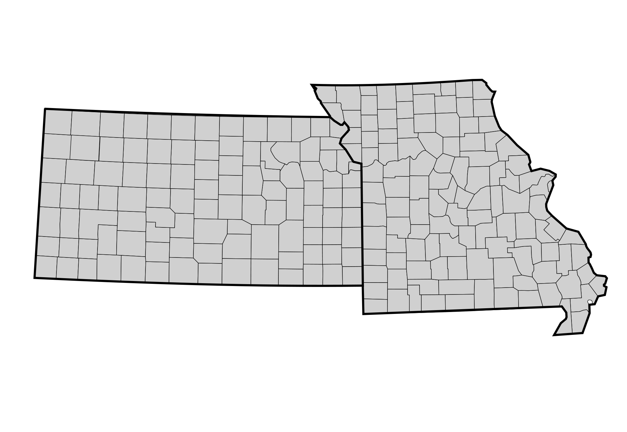 Missouri state outline png. File ks mo county
