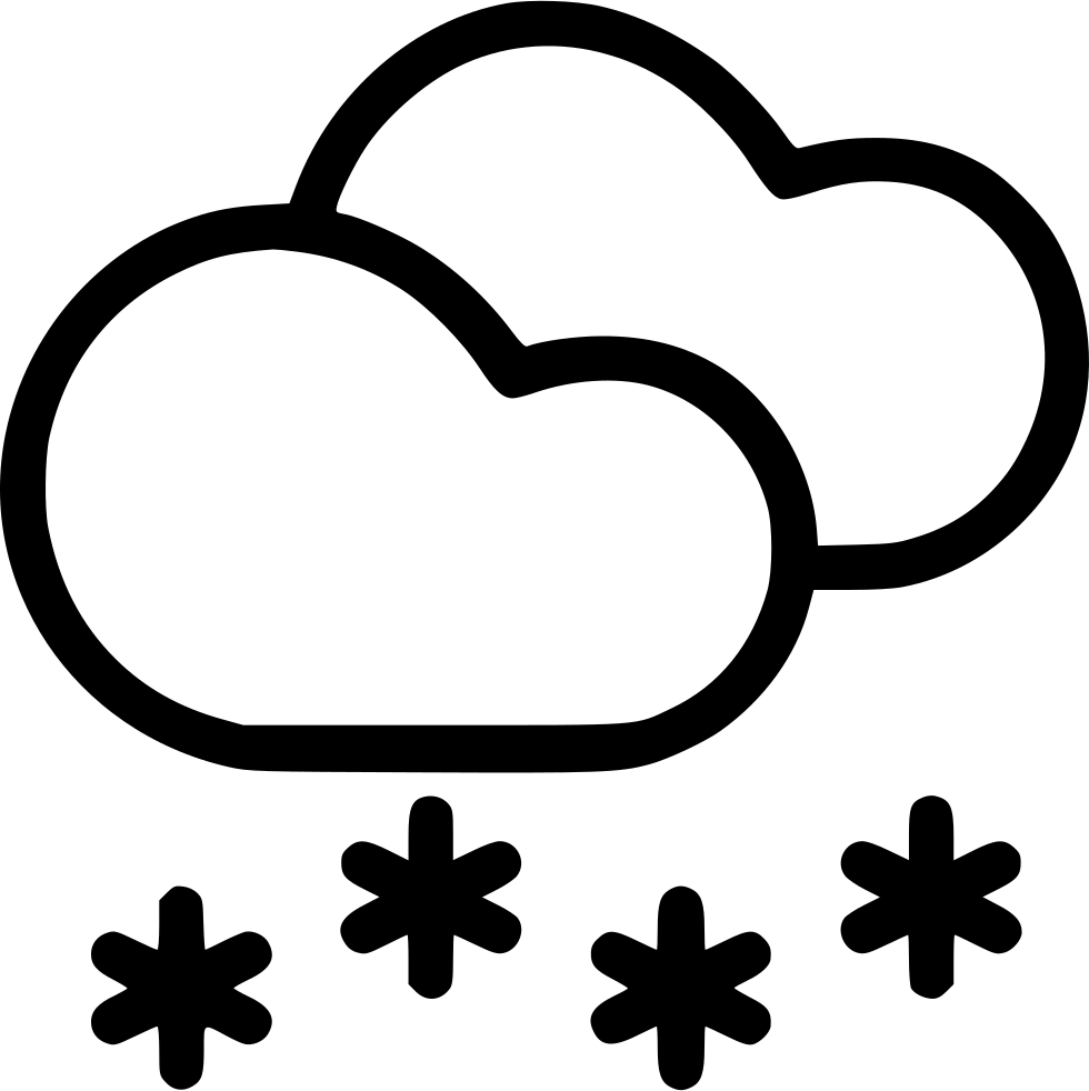 Mist drawing cloud. Clouds snow snowfall svg