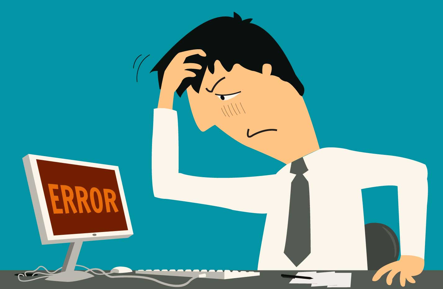 Mistake to avoid. Four common mistakes with