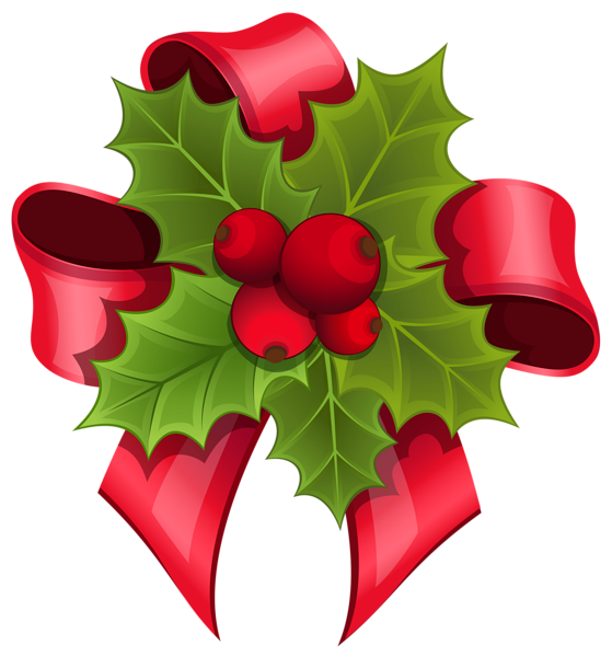 Mistletoe clipart mistle toe. With red bow png
